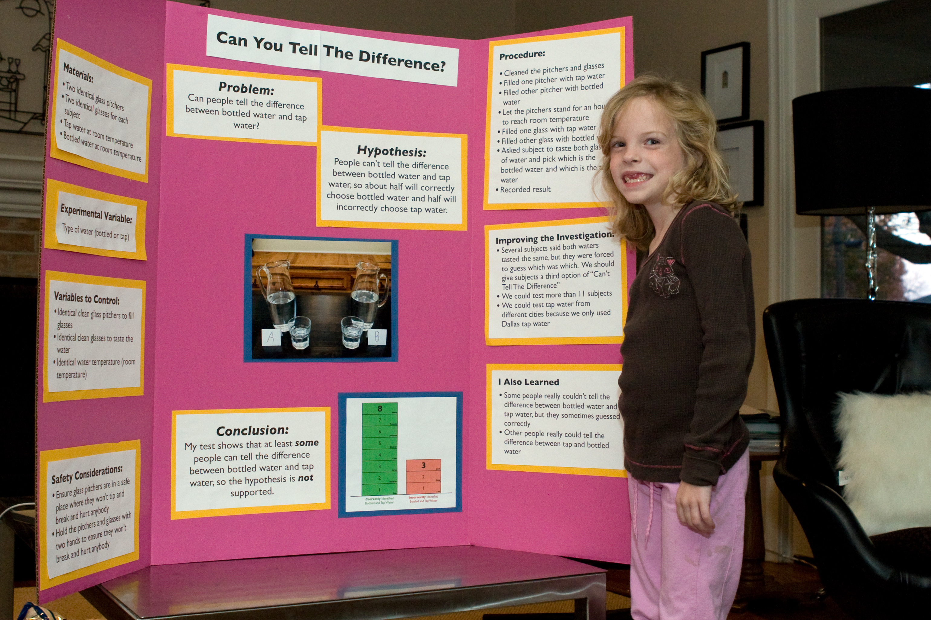 water science fair projects Here's a list of over 30 science fair ideas to get you started then download science experiments, and watch experiment videos to inspire your project.